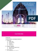 Reporte Económico CDMX 2013-2017