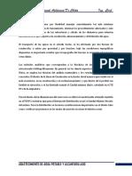 TRABAJO ESCALONADO 3 ABASTECIMIENTO DE AGUA POTABLE