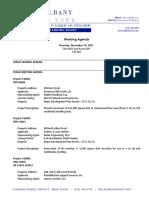 Albany Planning Board Agenda 2017-11-16
