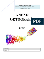 ANEXO Ortografia 5EP 2017-18