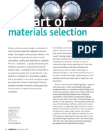 The Art of Material Selection