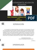 7ma Clase Pediatría II Uc Vulvovaginitis Aguda e Hipotiroidismo