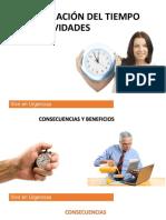 Administración de Actividades - Facilitador