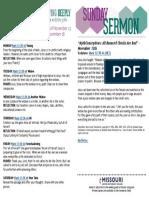 Growth Guide Week of November 13