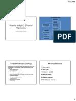 Financial Analysis-2 (Financial Statements)