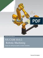 Robotic Machining fanuc