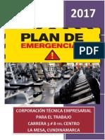 Plan de Emergencias Corporacion Empresarial