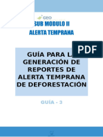 349794875 3 Guia Para La Generacion de Reportes de Alerta Temprana de Deforestacion