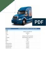 Ficha Técnica de Los Vehiculos