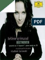 Hélène Grimaud plays Beethoven
