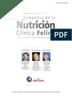 Enciclopedia de La Nutrición Felina