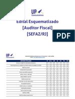 Auditor Fiscal Sefaz RJ