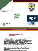 Corel Draw x5, Excel 2010, HTML