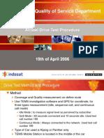 Alcatel Drivetest Procedure