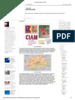 Clube de Arquitetura_ CIAM