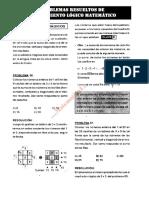 01 Razonamiento Logico Matematico PROBLEMAS