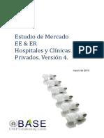 Bancoldex - Informe Final Estudio Mercado EE & ER Hospitales y Clinicas v25072012
