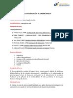 Syllabus Investigación de operaciones II.docx