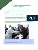El Demonio Es Obligado a Confesar Porqué Es Culpable de La Violencia en México