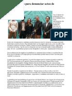 08/11/17 Presentan app para denunciar actos de corrupción - Canal Sonora
