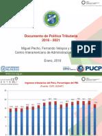 Documento de Política Tributaria 2016-2021