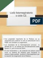 Ciclo Fotorrespiratorio o Ciclo C2