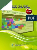 Master File Desa Provinsi Jawa Timur 2015