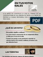 Termitas en Tus Votos Matrimoniales