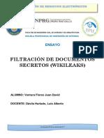 Wikileaks Ensayo