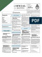 Boletin Oficial 23-08-10 - Tercera Seccion