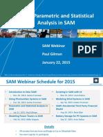 Sam Webinars 2015 Parametric Statistical