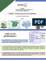 Modulo 6. Geodatabase