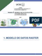 Modulo 5. Modelo de Datos Raster - Analisis Espacial