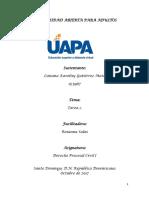 Resumen I Derecho Procesal Civil I (Autoguardado)