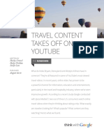 Travel Content Takes Off on Youtube Articles