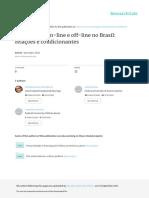 Participacao on-line e Off-line No Brasil Relacoes