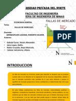 Economía Minera Falla de Mercado 1