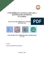 Guia Embriologia Veterinaria 2014