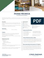 Ficha Tecnica Premium Miraflores