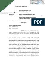 Sentencia Improcedencia Nulidad Acto Jurídico y Prescripción Adquisitiva