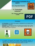 5.1 Toxicología Industrial