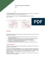 Resumen de Funciones Logarimicas