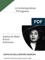 Poesia Contemporânea Portuguesa