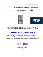 Compendio Teoria Psicodinamica - 2017-2 (2do Modulo)