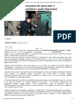 Mises Brasil - Apenas Em Uma Economia de Mercado o Planejamento Econômico Pode Funcionar
