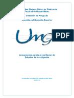 Lineamientos de Informe Final(2)