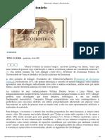 Mises Brasil - Menger, o Revolucionário
