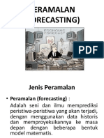 Materi 4 Peramalan Forecasting