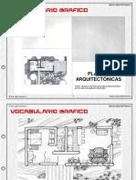 VOCABULARIO GRAFICO Plantas Arquitectonicas