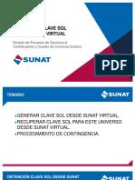 Obtención Clave Sol Desde Sunat Virtual